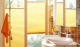Plisse Sonnenschutz Sichtschutz