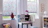 Kinderzimmer Plisse, lichtdurchlässig mit Sonnenschutz